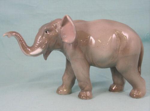 Vintage Von Schierholz Porcelain Elephant Germany