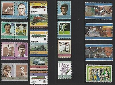 G644 Tuvalu / A Small Collection Early & Modern Umm  Lhm & Used