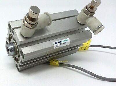 Airtac Cylinder Acqs32x60 Pneumatic Air Used Wsensors