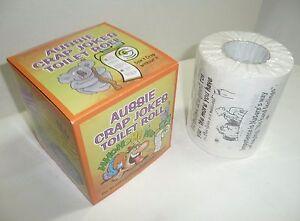 AUSSIE CRAP JOKES TOILET PAPER ROLL NEW 2 Ply Australian novelty souvenir gift