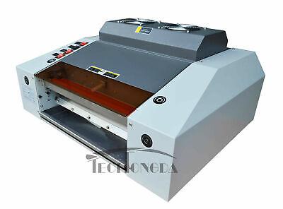 220v Machine Photodocument 13in A3 Uv Coating Laminator Coating Used