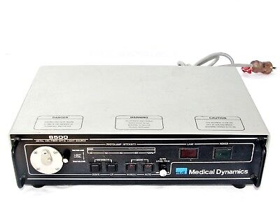 Md Medical Dynamics 6500 Metal Arc Fiber Optics Surgical Light Source Working