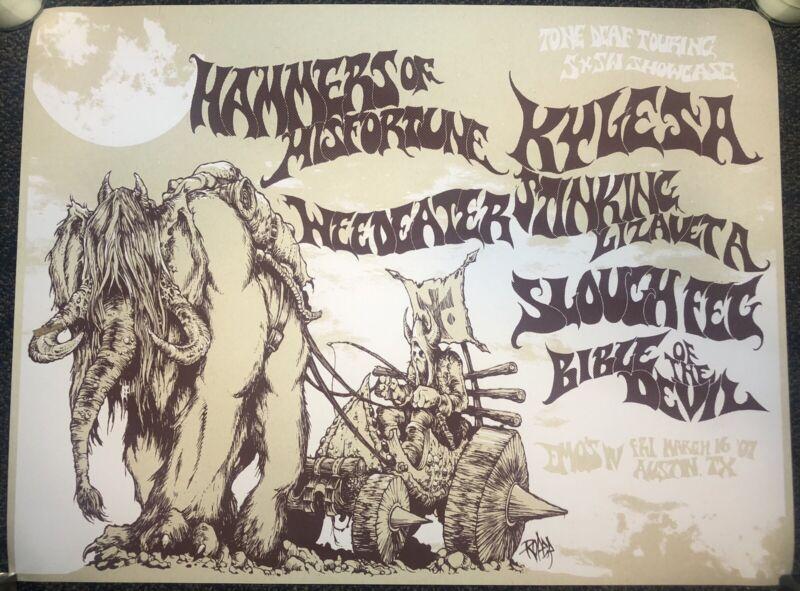 Weedeater, Kylesa, Arik Roper Poster