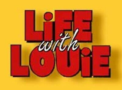 Life With Louie TV Comedy Series 1994 - 1998 - 3 Season - 39 Episodes  4 DVD Set