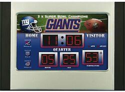 New York Giants Scoreboard Desk Alarm Clock