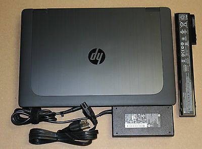 Hp Zbook 15 I7 4800Mq 2 7Ghz 8Gb 256Gb Ssd Quadro K1100m Win10 X64 Notebook  1A