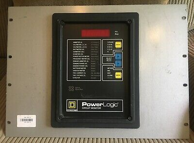 Square D Power Logic Circuit Monitor Class 3020cm2250 - Rs48 Data Communication