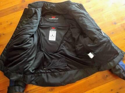 Torque Motorcycle Jacket - LARGE   $45