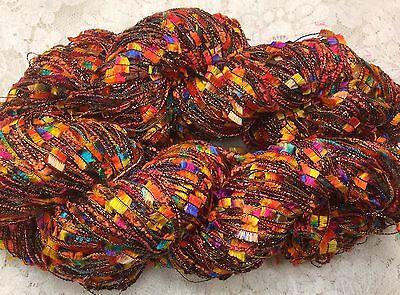 пряжа novelty yarn 3 strand 75