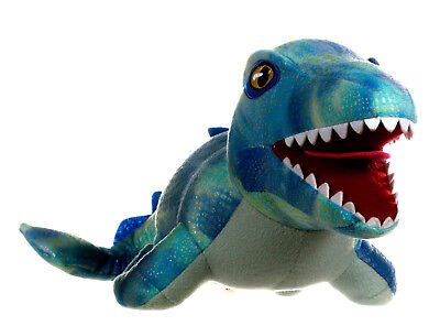 "NEW OFFICIAL 10"" JURASSIC WORLD SOFT PLUSH TOY MOSASAURUS"