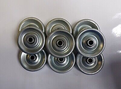 Wheel Frantz Conveyor Wheels 1-78 Dia. 14 Bore 916 Width Lot Of 9