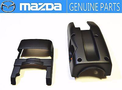 MAZDA GENUINE OEM RX-7 FC3S Steering Wheel Column Cover Set Lower & Upper JDM