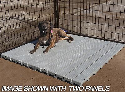 Dog Kennel Flooring, Kennel Decking, Raised Flooring system, Dog Run Flooring