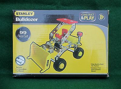 Stanley Tools, Model Bulldozer Kit, Construct & Play Toy, Child's DIY Gift, New!