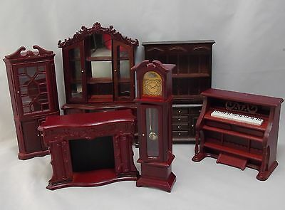 Wood Furniture for Dolls House - Living