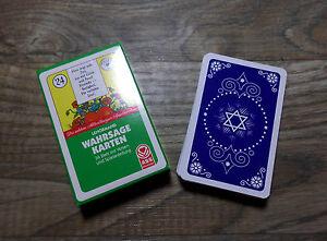Lenormand Wahrsagekarten 36 Blatt mit Versen Oraklekarten Neu