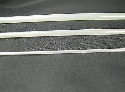 """OLDE FLY SHOP FIBERGLASS FLY ROD BLANK 7' 6"""" 4WT 3PC TRANSLUCENT  WITH CLOTH BAG"""