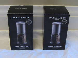 NEW-Cole & Mason Herb & Spice Mills-2 - Usually $33 for 1
