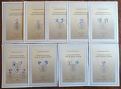 Berlin ETB Sammlung alle Frauen gestempelt 830,828,849,845... EM Michel 220 €