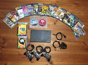 PS2 (SCPH-50002 V9) console, controllers, accessories, games Adelaide CBD Adelaide City Preview