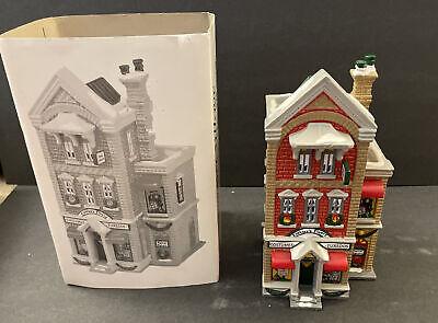 Dept. 56 Snow Village 1991 Finklea's Finery: Costume Shop 5405-4 Orig Box Sleeve