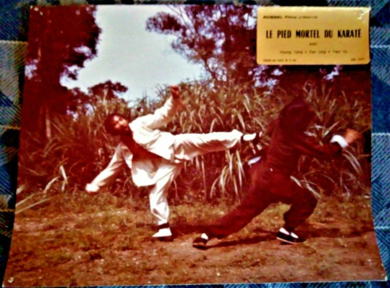 THE DEADLY FOOT of KARATE - Fim forbidden - 13 years old - PHOTO...