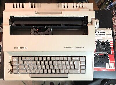 Vintage Smith Corona Electric Typewriter Model 5L w/ power cable Tested!