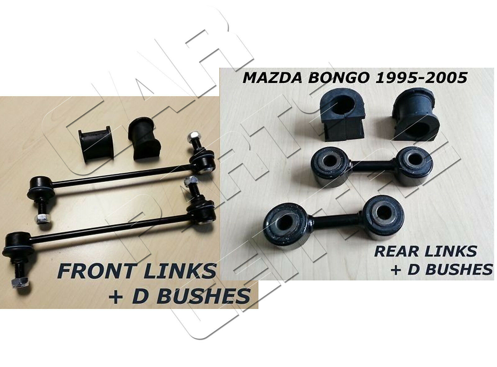 Mazda Bongo 95-06 Front Brake Pads /& Fitting Kit FREE NEXT DAY DELIVERY