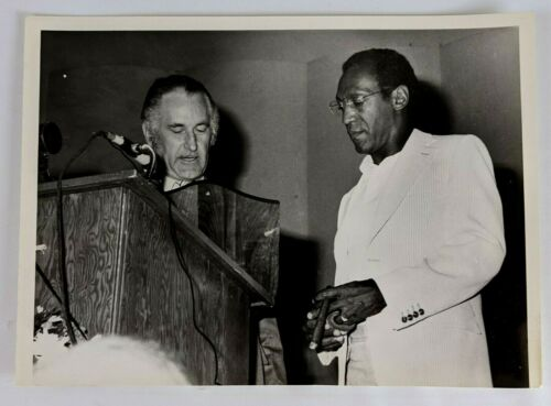 1980 Grand Aerie Convention Fraternal Order Eagles Bill Cosby Photo Salt Lake