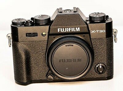 Fujifilm X-T30 26.1 MP Digital SLR Camera - Black (Body Only)
