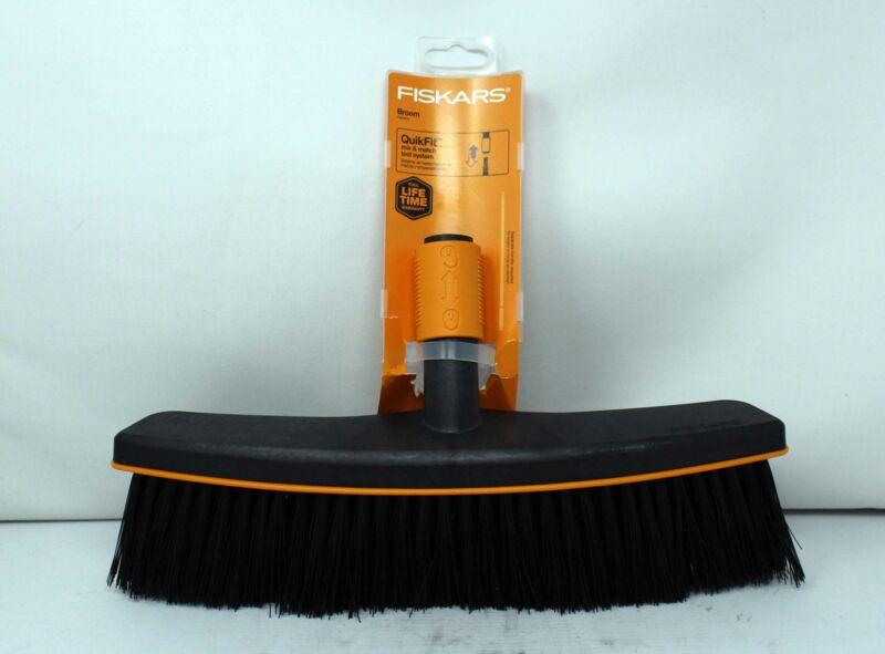 Fiskars QuickFit Broom Black Tool Head 1 Count