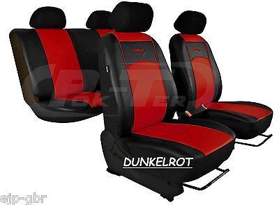 Für MERCEDES CITAN hochwertige,paßgenaue Sitzbezüge, Kunstleder 7 Farben.