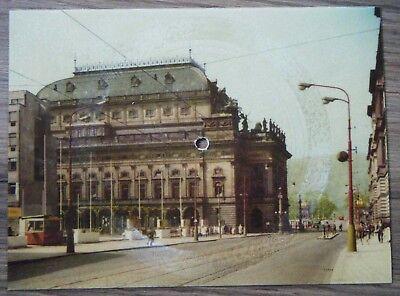 Supraphon Tonpostkarte Schallbildkarte Smetana Zdenek Chalabala 1961