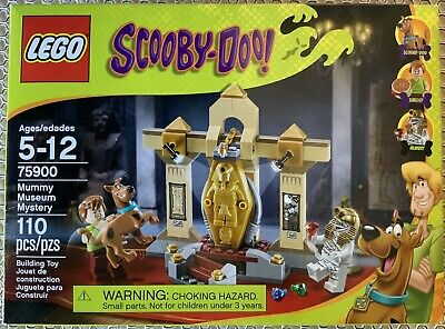 Lego Scooby Doo 75900 Mummy Museum Mystery- Pre-owned, Clean, Complete +Box