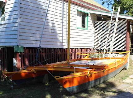 Two James Wharram Hitia 17 Catamarans