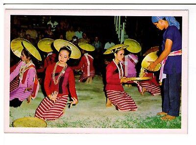 Postcard: Dancing Girls, Chiengmai, North Thailand