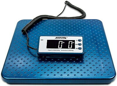 Industrial Digital Postal Scale Weight Ship 440 Lbs Vet Animal Heavy Duty Bags