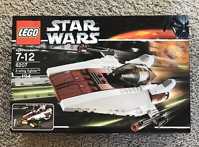 NEW Lego Star Wars A-wing Fighter 6207