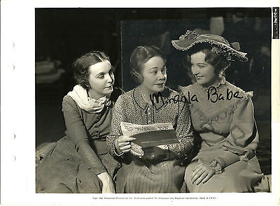 MRS. WIGGS OF CABBAGE PATCH ZASU PUTTS EVELYN VENABLE VINTAGE ORIGINAL PHOTO