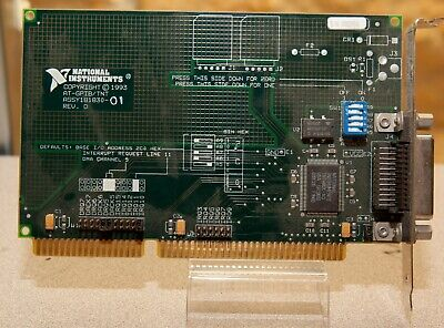 National Instruments At-gpibtnt Interface Card 181830-01 Ieee-488.2 Isa B64