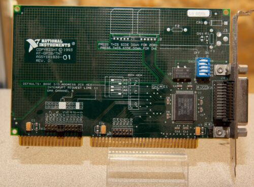 National Instruments AT-GPIB/TNT Interface Card 181830-01 IEEE-488.2 ISA B64