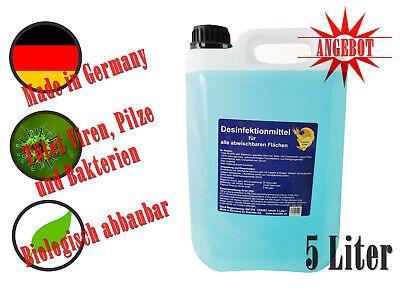 5 L Flächendesinfektionsmittel alkoholfrei Desinfektionsmittel Reinigungsmittel