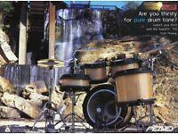 2002 Print Ad of Peavey RadialPro 1000 Series Cashmere Drum Kit