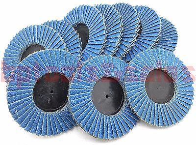 10 3 Zirconia Oxide 60 Grit Roll Lock Sanding Flap Disc Abrasive Type R