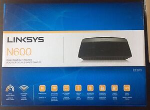 Linksys N600 E2500 wireless router
