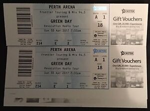 Green Day Revolution Radio Tour *Perth* Kingsley Joondalup Area Preview