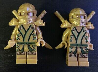 Lego Ninjago Golden Ninja Lloyd Minifigure x2 71239 70505 70503