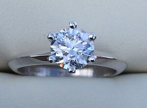 1ct Diamond Engagement Ring D Colour 18ct Tiffany Ring Warragul Baw Baw Area Preview