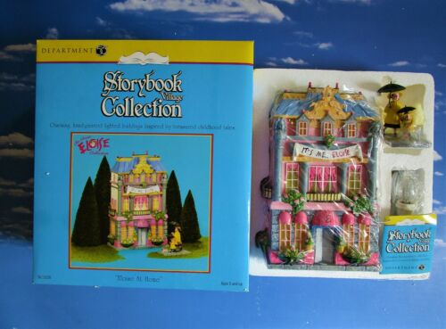 DEPT 56 Storybook Village ELOISE!  Gorgeous bold colors, beautiful details