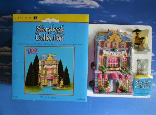 DEPT 56 Storybook Village ELOISE!  Gorgeous bold colors, beautiful details